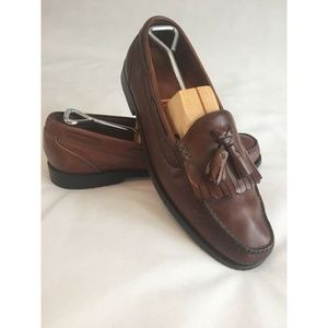 Cole Haan Men's Loafers Shoes 12D Brown Leather